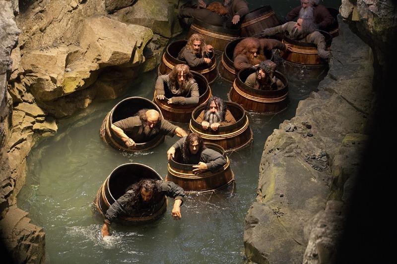 O Hobbit - A Desolação de Smaug: o grupo de anões