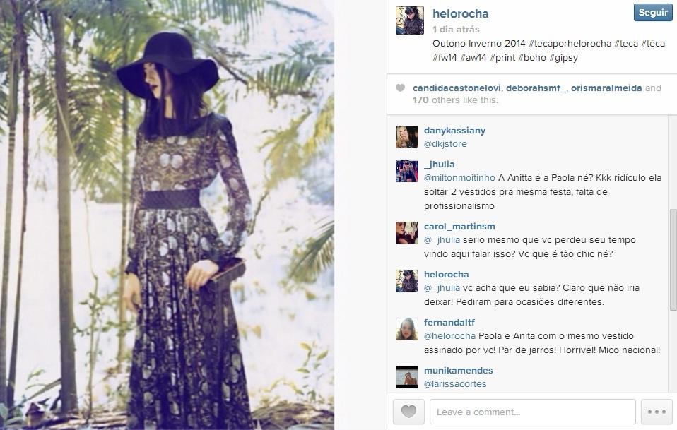 Helo Rocha - Instagram