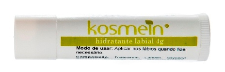 Hidratante Labial, da Kosmein. Preço sugerido: R$ 19,00