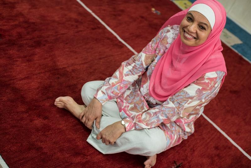 Hijab, Mulheres de Véu: Maria Moreira