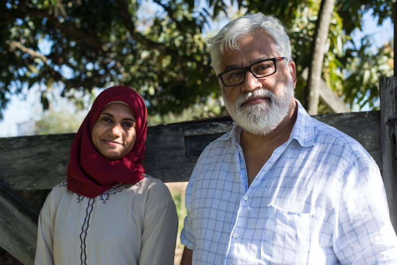 Hijab, Mulheres de Véu: Zahreen Adira e Paulo Halm