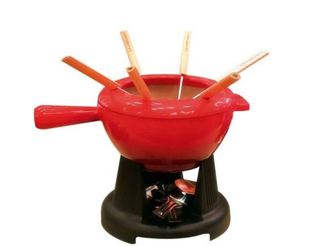Conjunto fondue Le Creuset