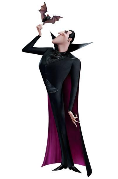 Drácula: o personagem é o anfitrião de um resort no divertido desenho animado Hotel Transilvânia