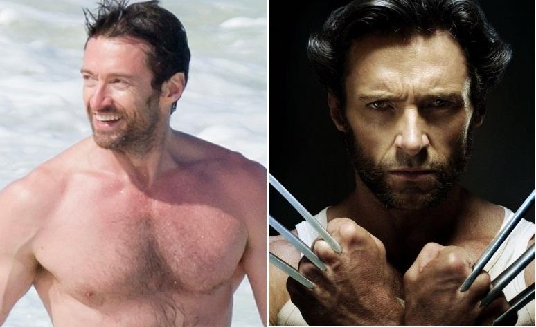 Hugh Jackman interpreta Wolverine na cinessérie X-Men