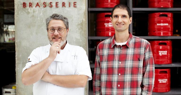 Novak e Ades: foco em novos negócios como a Bráz Trattoria (Foto: divulgação)