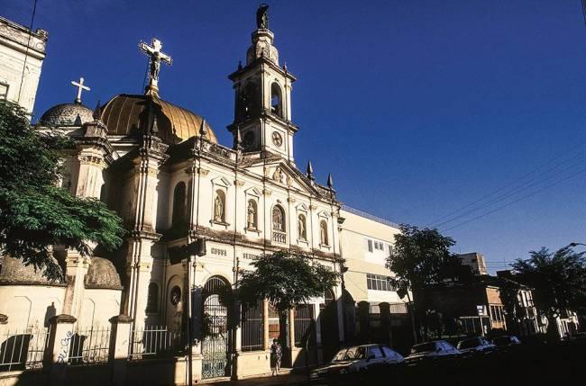 Igreja de Nossa Senhora de Achiropita, no bairro do Bixiga