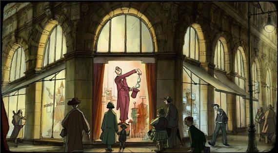 A bela animação francesa O Mágico