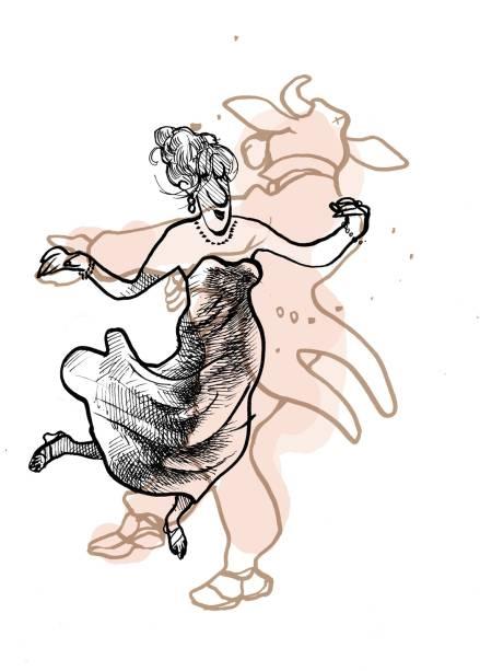 Ilustração feita para a exposição