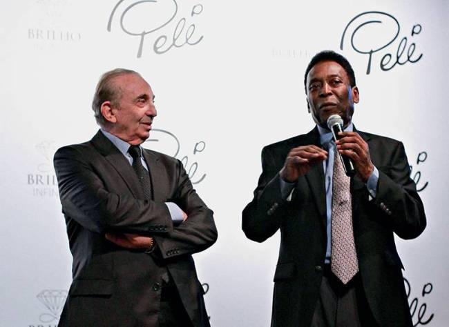 Pepe Altstut e Pelé