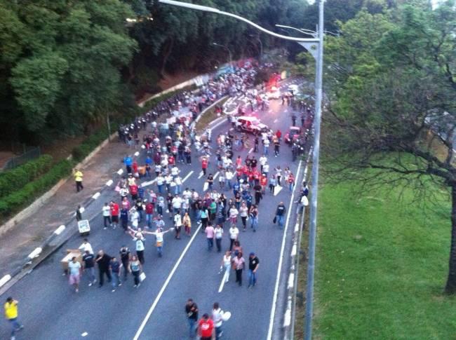 Protesto Professores 23 de Maio