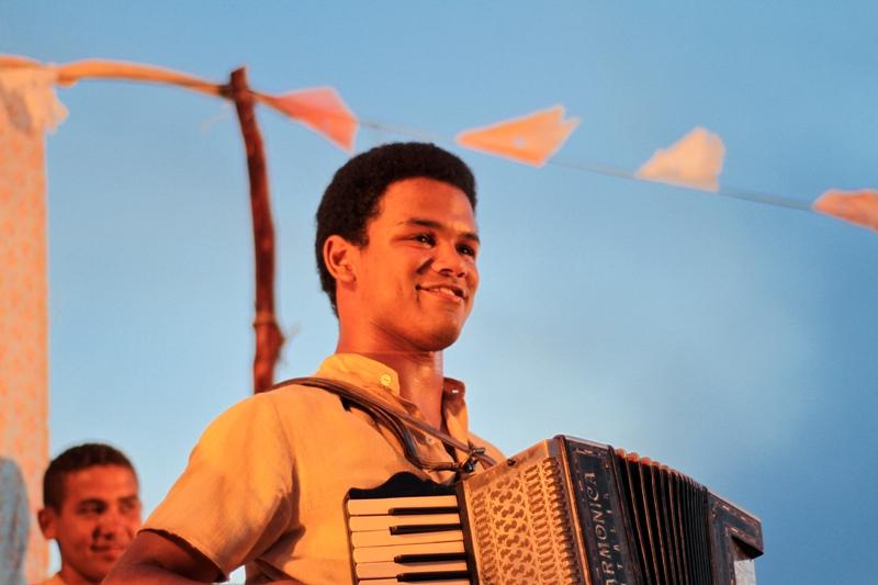 Gonzaga - De Pai pra Filho: o músico Land Vieira interpreta Luiz Gonzaga quando jovem