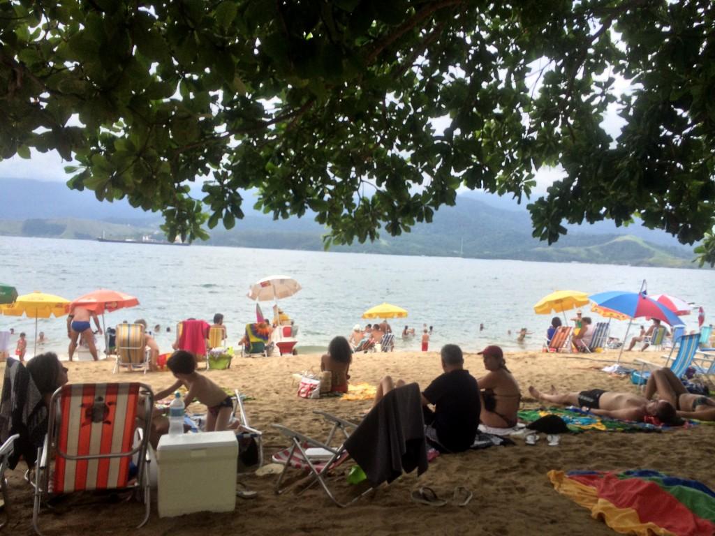 Feiticeira é uma das dez praias de Ilhabela que não apresentam boas condições para o banho de mar (Foto: Fábio Lemos Lopes)