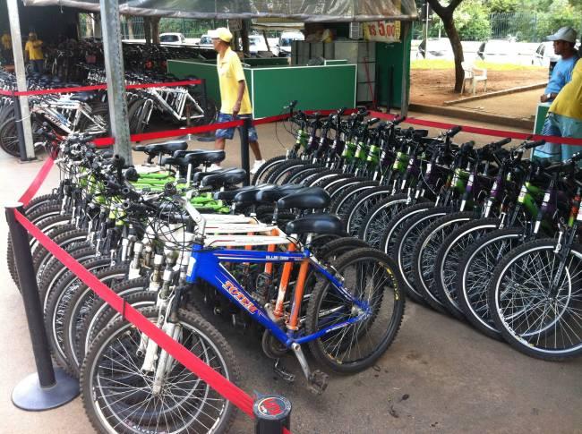 aluguel bicicleta