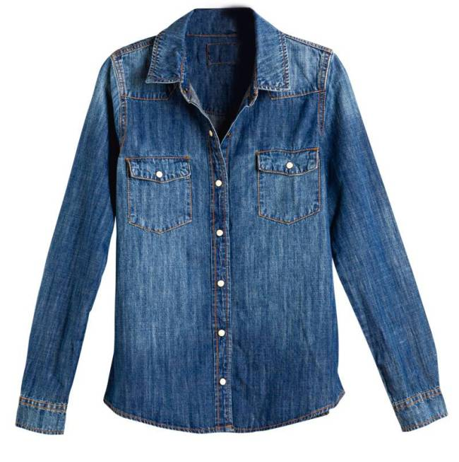 As Boas Compras - Fazenda - Camisa jeans, Forever 21