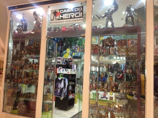 Loja Casa do Herói Ibirapuera