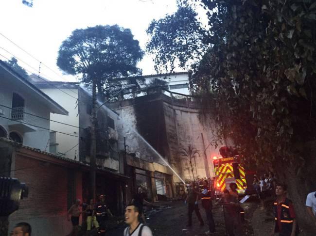 Bombeiros Acidente Casa Verde