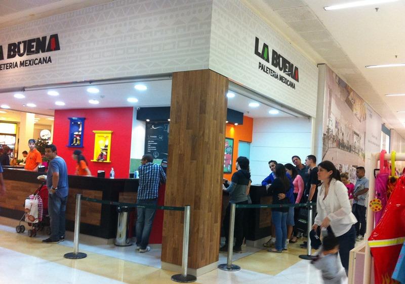 La Buena Paleteria Mexicana: unidade no Santana Parque Shopping