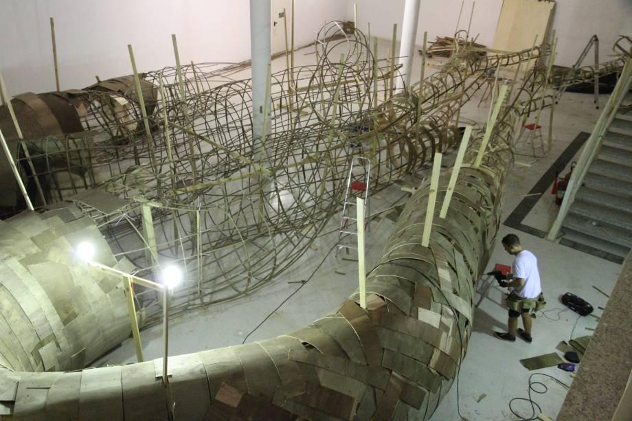 O projeto teve supervisão de engenheiros