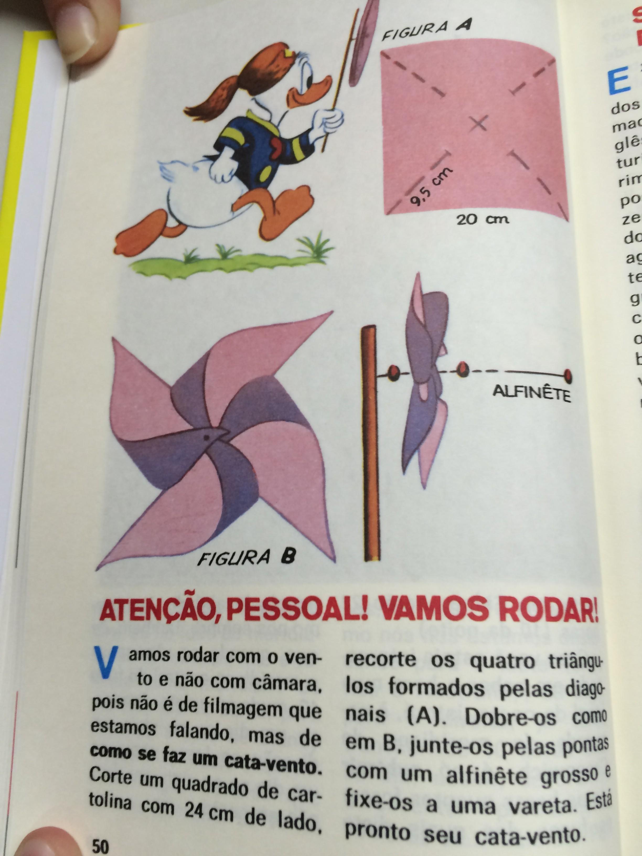 Como fazer um cata-vento