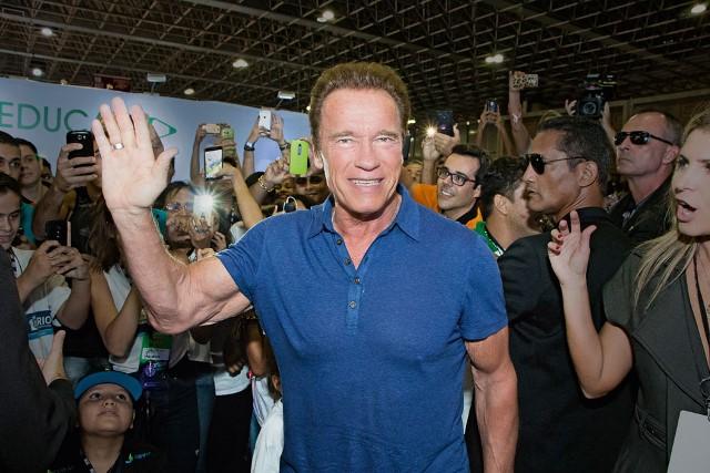 Schwarzenegger: feira fitness na cidade (Foto: Rodrigo Dod/SAVAGET)