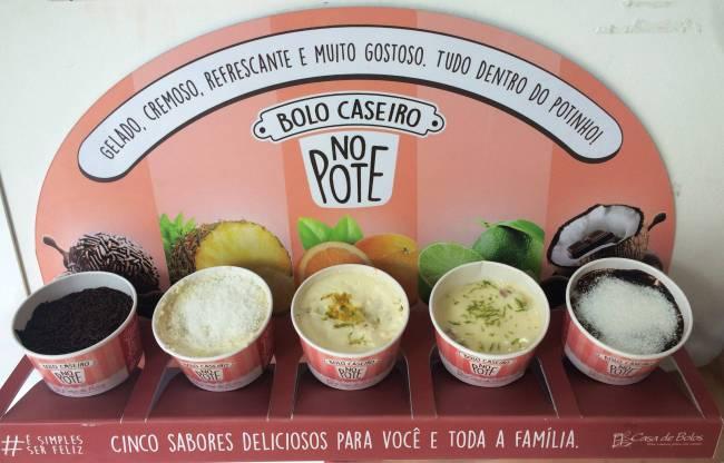 Casa de Bolos: bolo gelado no pote