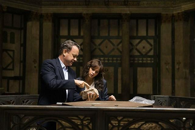 Tom Hanks e Felicity Jones em 'Inferno'