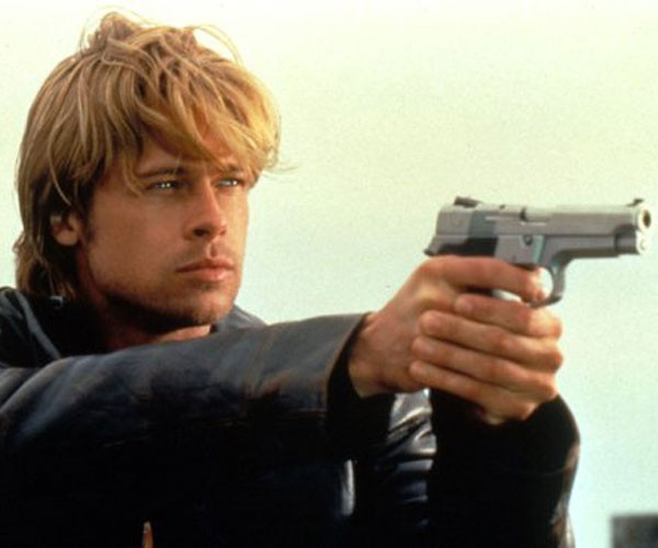 """Brad Pitt sobre Inimigo Íntimo: """"Fazer algo enquanto rodávamos era uma pressão enorme"""""""