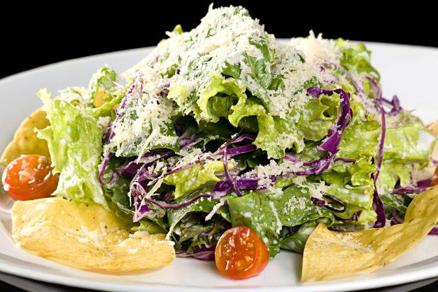 Inside – Ceaser salad