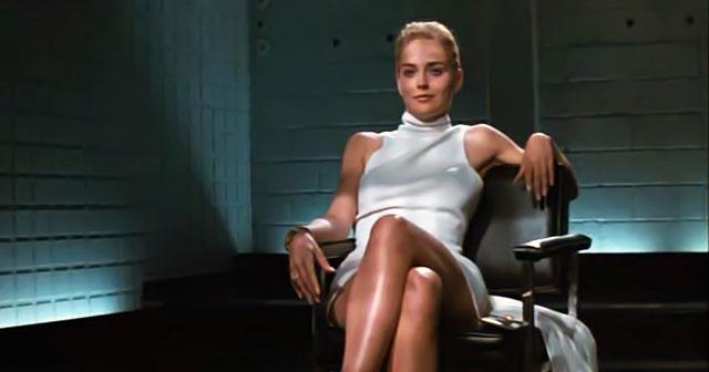 1992 - A cruzada de pernas e o estrelato em Instinto Selvagem