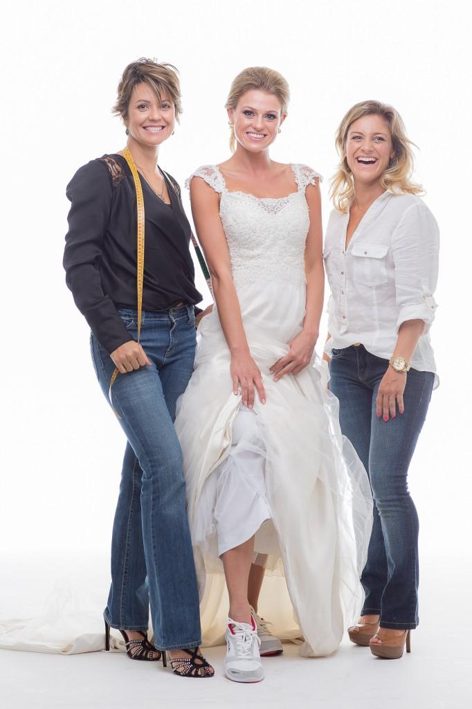 As sócias Carina Rosin e Flavia Picolo: especialistas em ajudar noivas até o grande dia