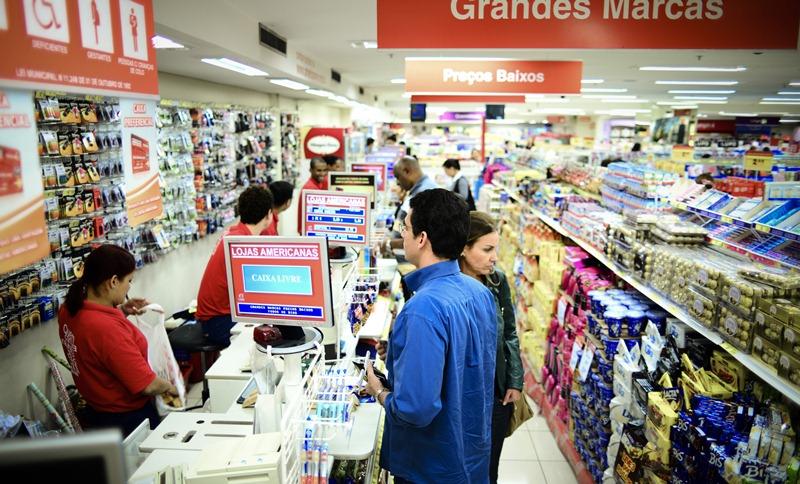 Interior da Lojas Americanas