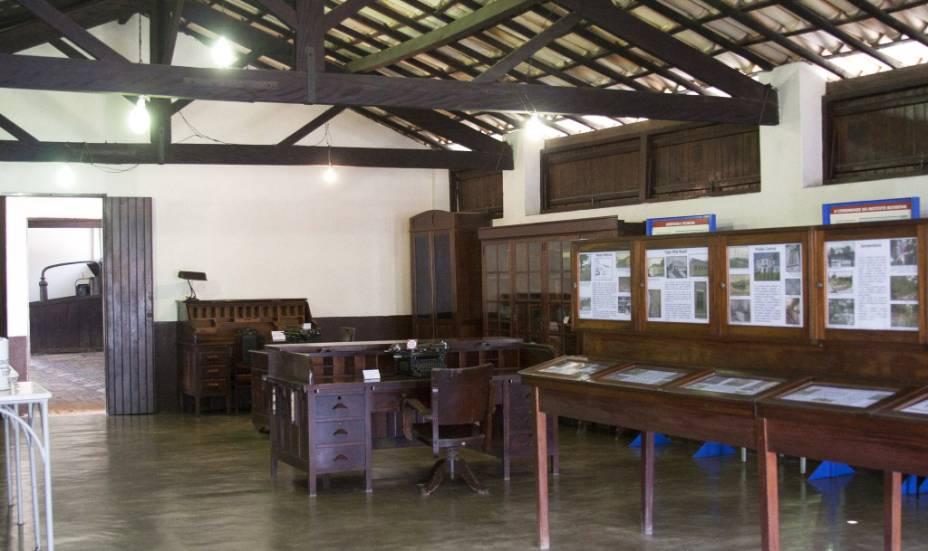 Interior do MHIB, Museu Histórico do Instituto Butantan