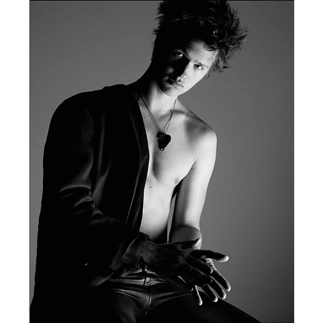 A foto sensual que fiz para a revista Interview