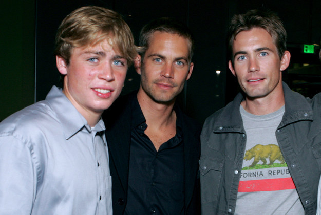 Cody e Caleb entre Paul Walker