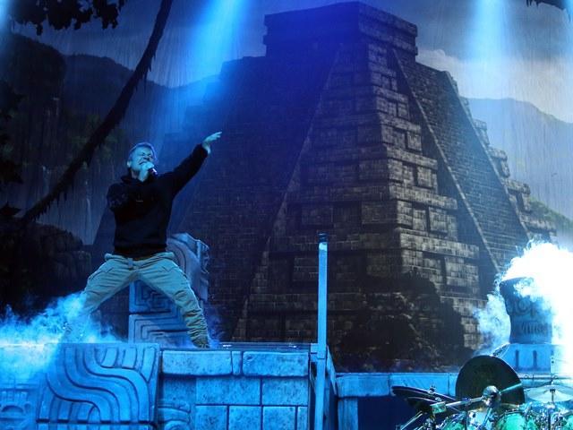 Iron Maiden: show grandioso com clássicos da banda
