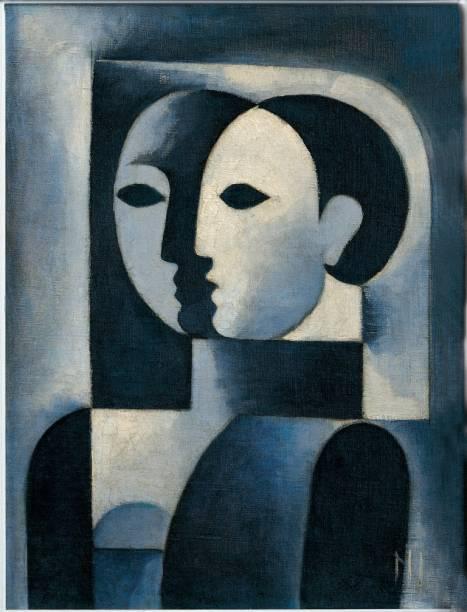 Figura em Azul (c. 1926), de Ismael Nery