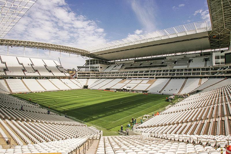 Estádio será palco da abertura do Mundial