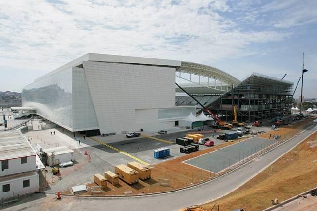 Arena Corinthians (Itaquerão) - Fachada