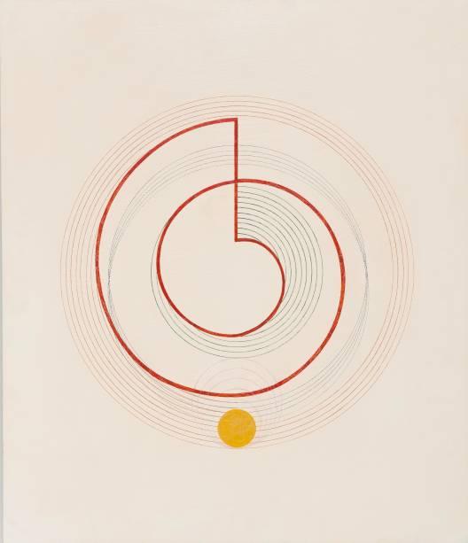 Desenvolvimento Ótico Espiral de Arquimedes, 1952, Waldemar Cordeiro