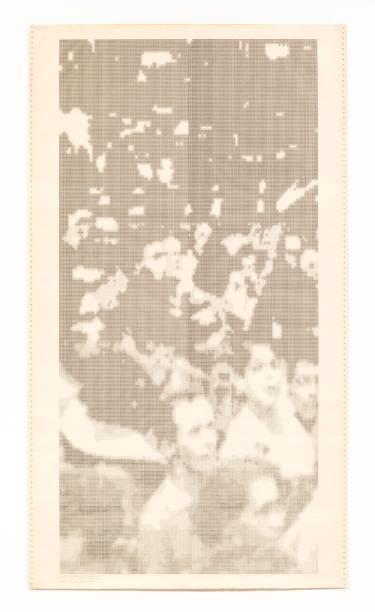 Gente grau 0, 1973, Waldemar Cordeiro
