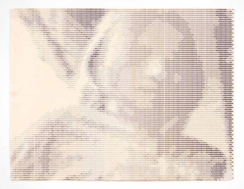 Retrato de Fabiana, 1970, Waldemar Cordeiro