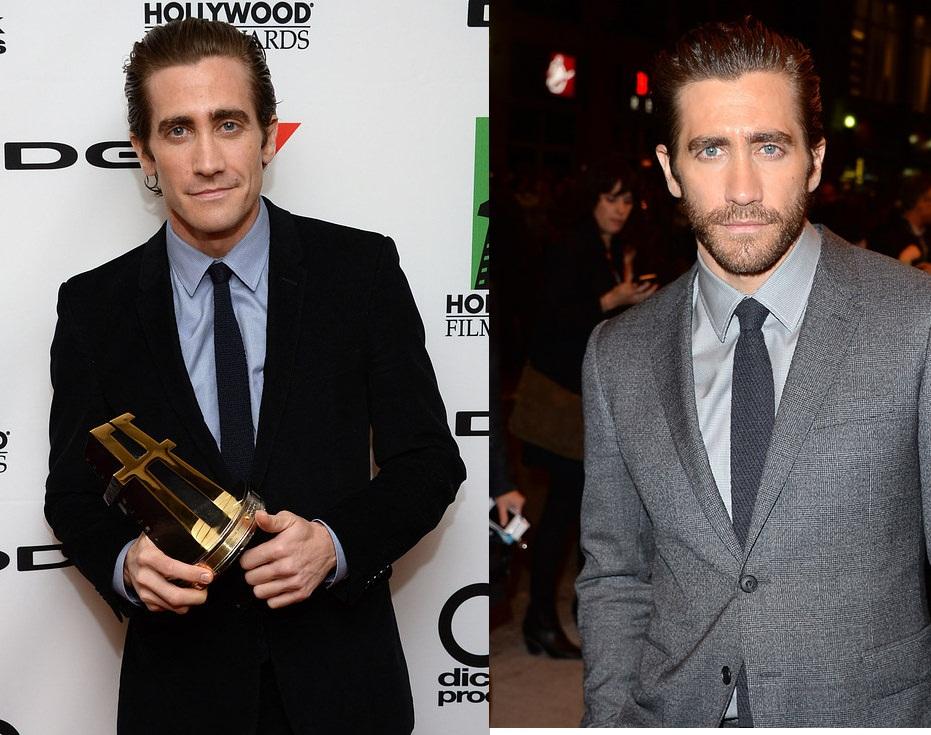 E você, acha que o visual do ator Jake Gyllenhaal melhor com ou sem barba? (Foto: Reprodução)