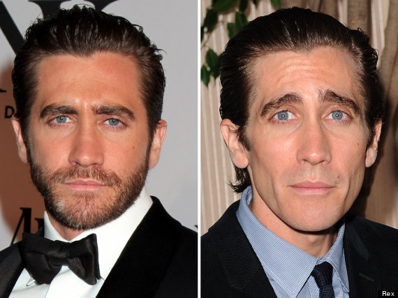 Impressionante: Jake Gyllenhaal antes e depois da dieta