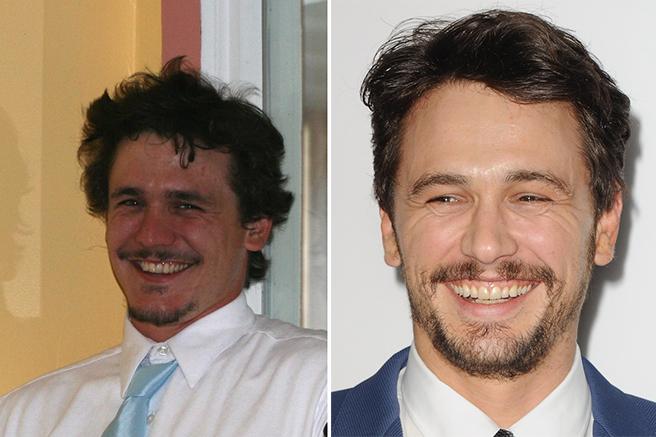 O clone de James Franco saiu meio rechonchudo, mas, ainda assim, parece um irmão do ator
