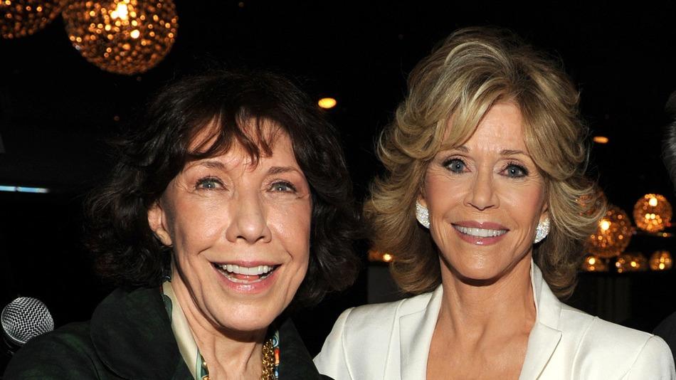 Lily Tomlin e Jane Fonda, protagonistas da comédia Grace and Frankie, que estreia em 2015 no Netflix