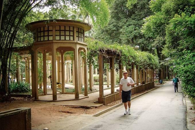 Jardim do Parque Doutor Fernando Costa ou Parque da Água Branca