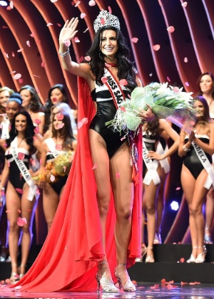 A paulista Jéssica Vilela, 23 anos: ganhou plástica no nariz para disputar concurso de Miss Brasil (Foto: Lucas Ismael/Band)