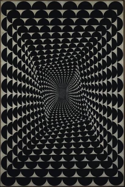 Experimento Barroco, de Jeffrey Steele: flerte com a op art
