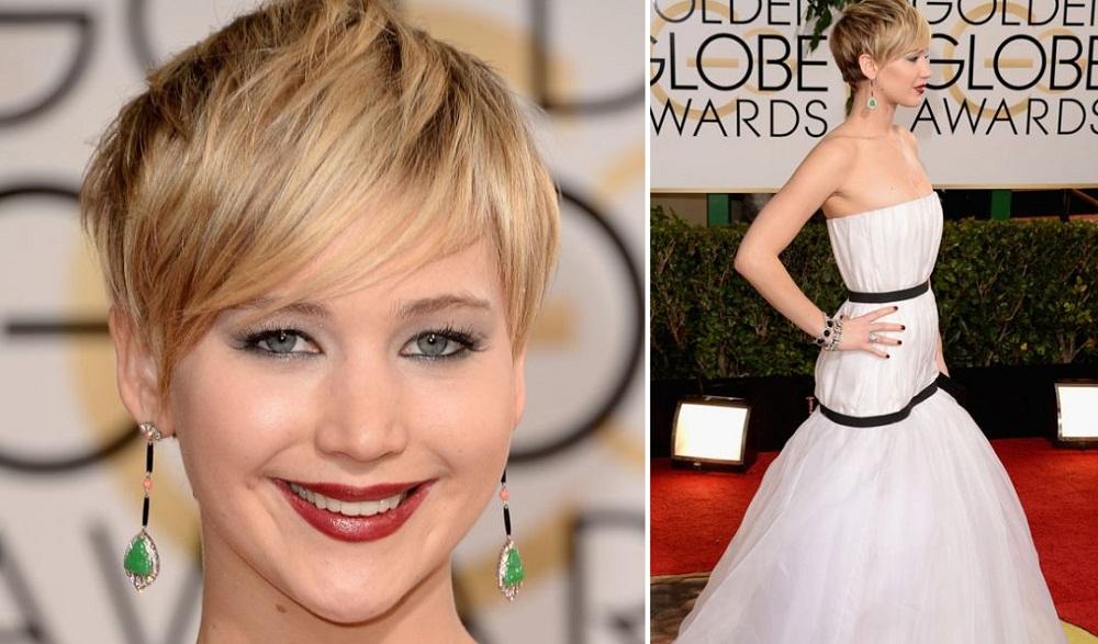 Jennifer Lawrance - Golden Globes 14
