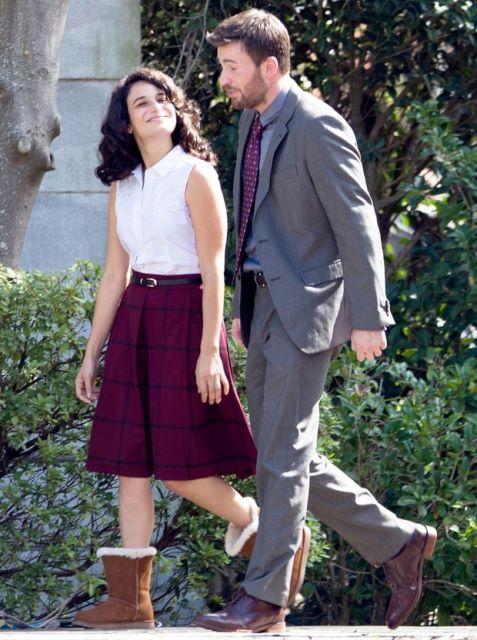 Jenny e Chris flagrados por paparazzo